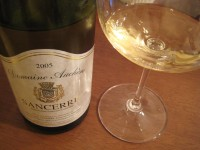 Sancerre2005dauchere